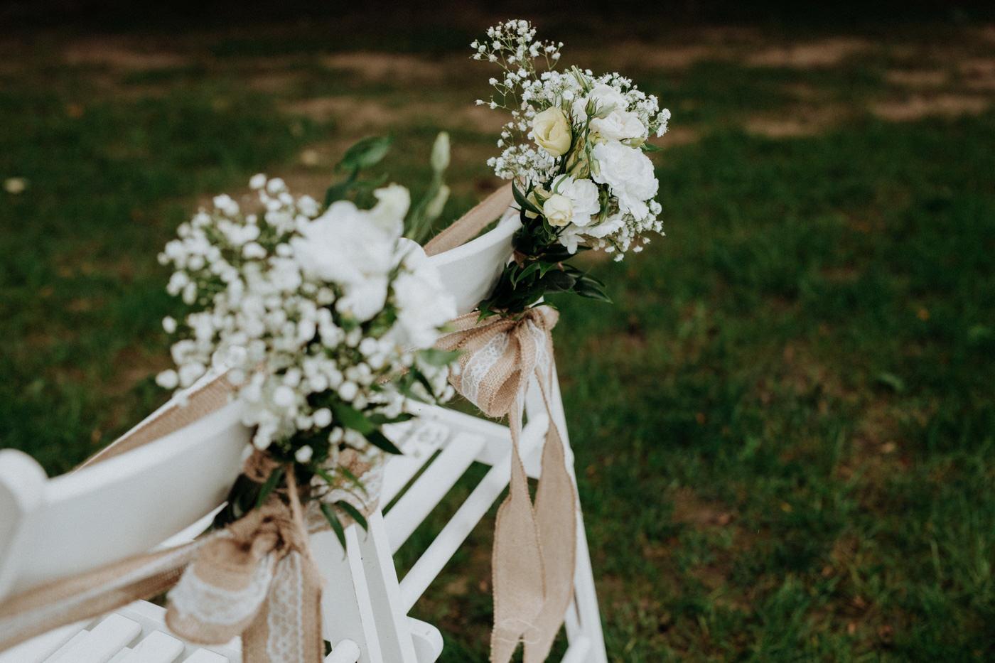 Piękny ślub plenerowy - Dwór Leśce 45