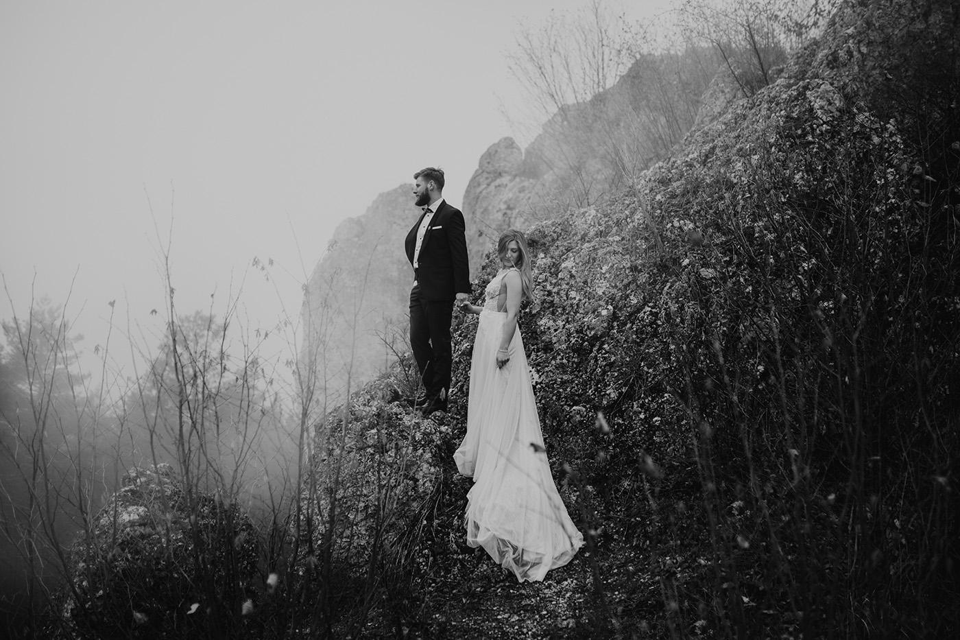 Plener ślubny na Jurze Krakowsko-Częstochowskiej 7