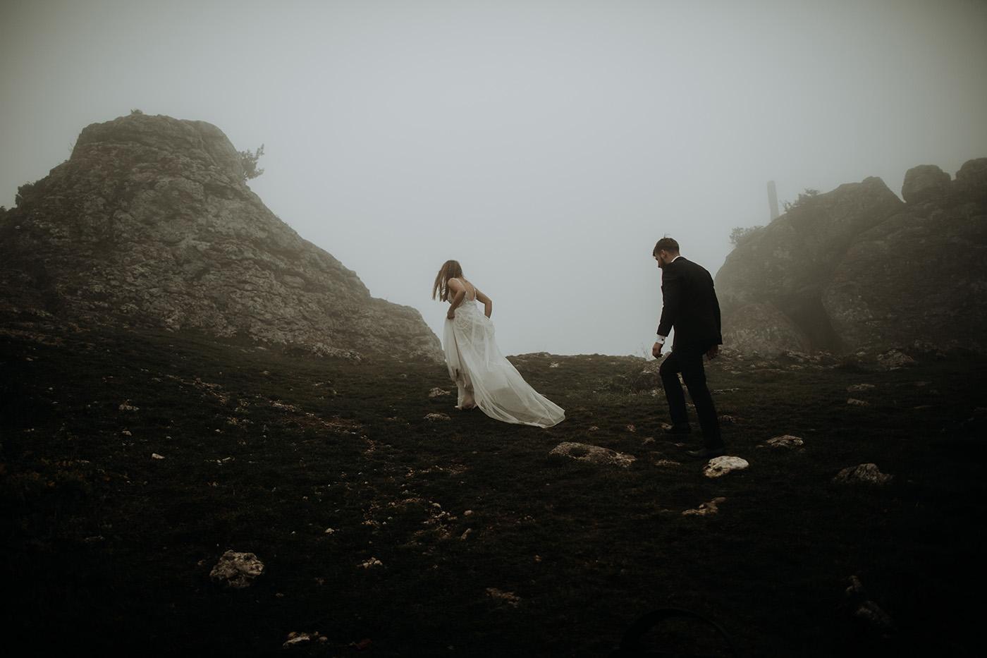 Plener ślubny na Jurze Krakowsko-Częstochowskiej 35